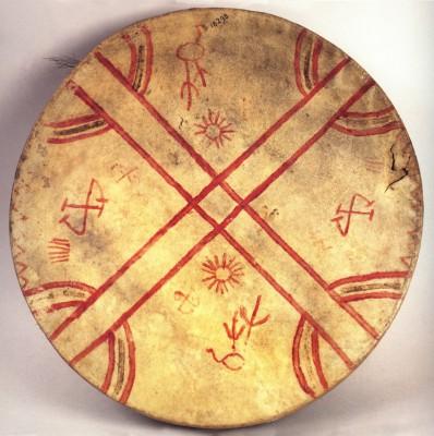 Шаманский барабан культрун, kultrún