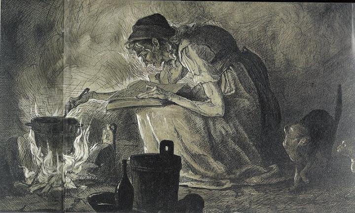 колдунья, Баба Яга