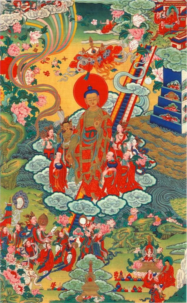 Лестница Будд