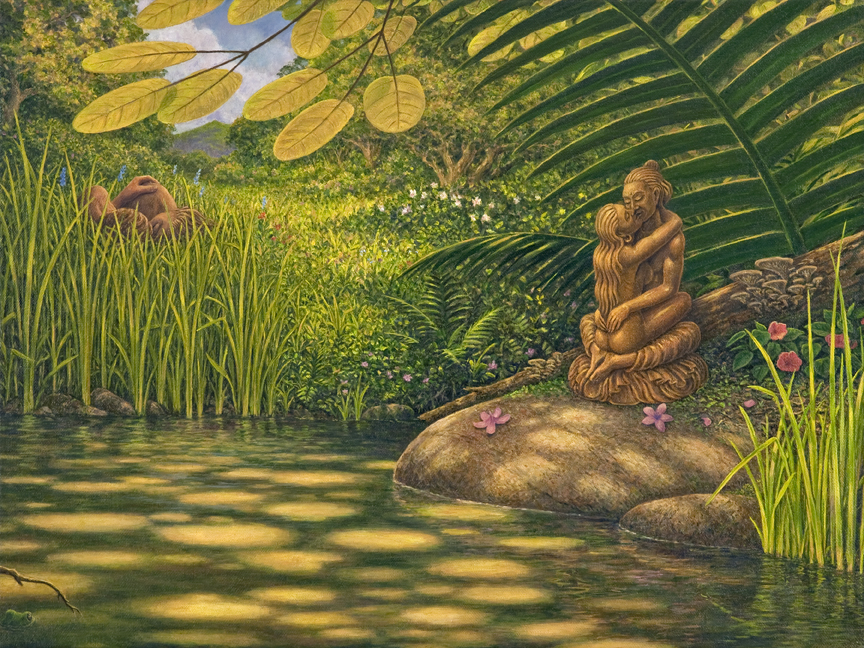 Mark Henson - Under the Yab-Yum Tree