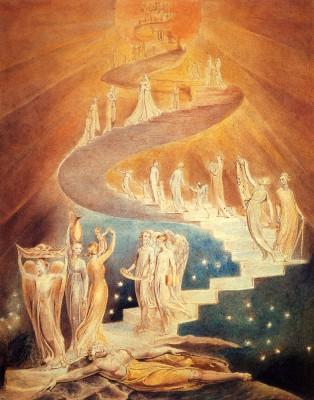 Лестница Иакова. Уильям Блейк – английский поэт, художник, мистик и визионер.