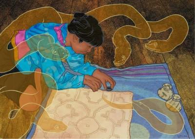 Шипибо-Конибо, индейцы, Перу