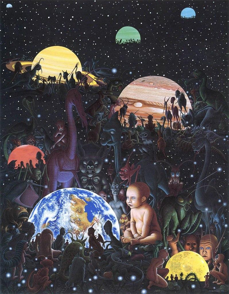 Мир шаманов, божеств и дхуов