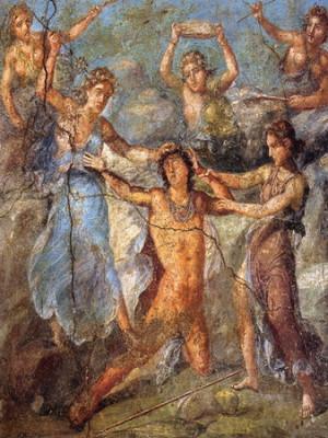 еврипид 1 Pompeii_-_Casa_dei_Vettii_-_Pentheus