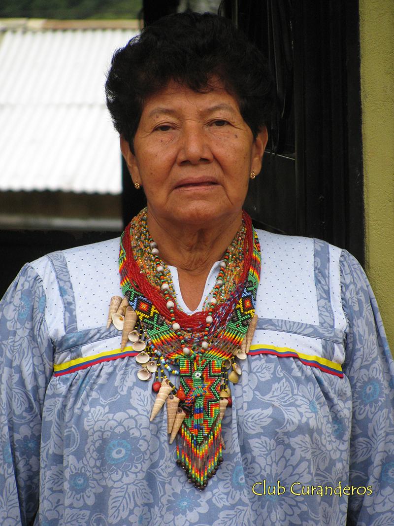 женщина племени Кофан, Колумбия