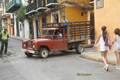 на улицах Картахены, Колумбия
