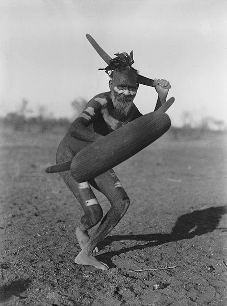 бумеранг, австралийский абориген